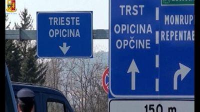 Via pattugliamenti misti Italia-Slovenia