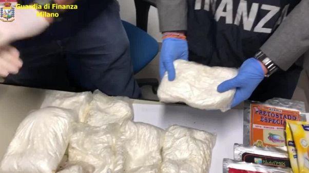 Colombiana arrestata con 4 Kg di coca