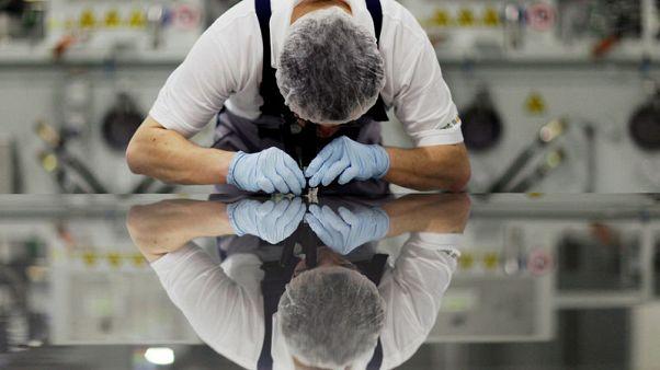 مؤشر: أنشطة مصانع منطقة اليورو تنكمش للشهر الخامس في يونيو