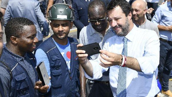 Istat: Salvini esulta, avanti così