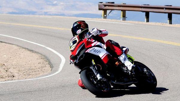 Pikes Peak, morto il pilota Ducati Dunne
