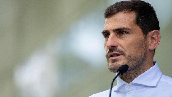 Dopo infarto Casillas torna ad allenarsi