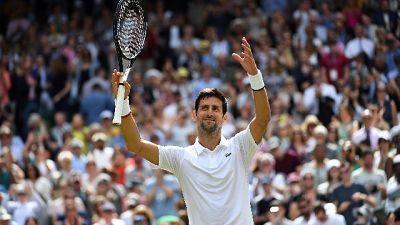 Wimbledon: Djokovic batte Kohlschreiber