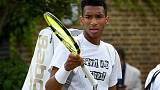 Auger-Aliassime up and running as fellow young guns flop