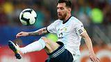 'Flagbearer' Messi working hard despite lack of sparkle, says Scaloni