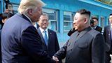 ترامب يقول إنه يتطلع للقاء زعيم كوريا الشمالية قريبا