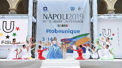 Universiadi,con tuffi al via Napoli 2019