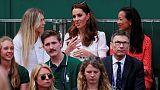 Duchess Kate skips Royal Box for outside court