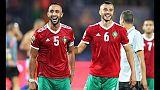 Coppa Africa, Benatia regala tv ai bimbi