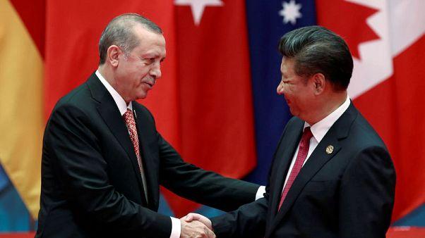 الصين تقول إن الرئيس التركي عرض المساعدة بشأن إقليم شينجيانغ