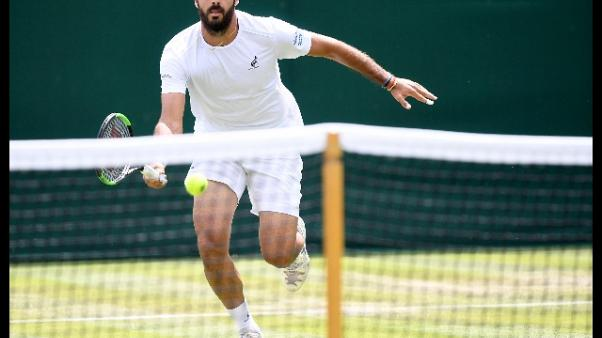Wimbledon: Caruso eliminato da Simon