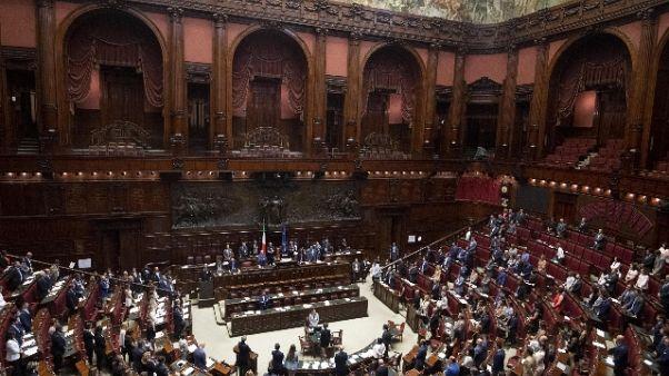Maggioranza sotto su emendamento Camera