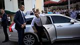 Frontrunner in Greek election says he is ready for 'leap forward'