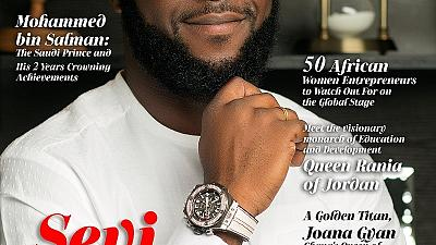 Entrepreneurship in Focus as Seyi Tinubu a Covers July/August Issue of Pleasures Magazine