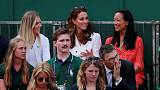As if by royal command, seven Britons make it into second round