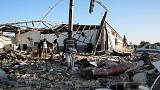 At least 44 killed as air strike hits Libya migrant detention centre - U.N.