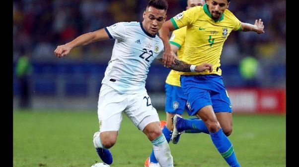 Copa America, Brasile in finale