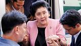 Unhappy returns: Imelda Marcos' 90th birthday bash ruined as scores rushed to hospital