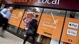 Sainsbury's hit by weak general merchandise, clothing sales