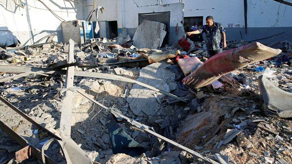 الأمم المتحدة: 44 قتيلا على الأقل و130 مصابا في هجوم على مركز للمهاجرين بليبيا