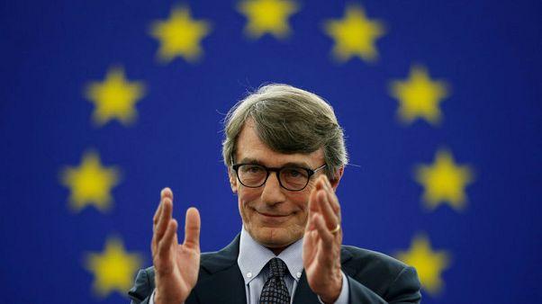 الايطالي دايفيد ساسولي بعمر 63 سنة رئيساً للبرلمان الأوروبي