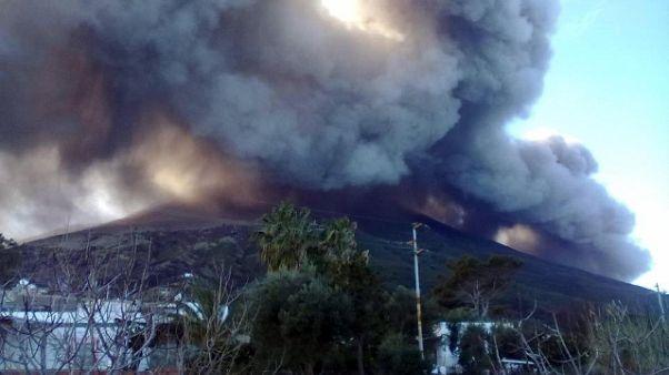 Stromboli: esplosioni da cratere