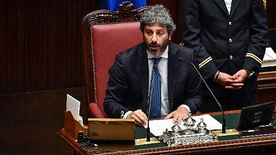 Auguri a Sassli da presidente Camera