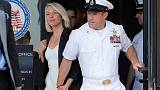 U.S. Navy SEAL reprimanded, demoted for posing with dead prisoner