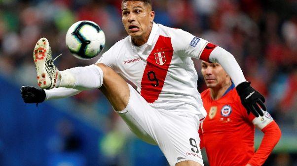 Copa America: Cile ko 3-0,Perù in finale
