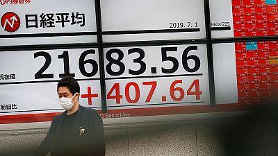 الأسهم اليابانية تغلق مرتفعة بدعم آمال خفض الفائدة الأمريكية