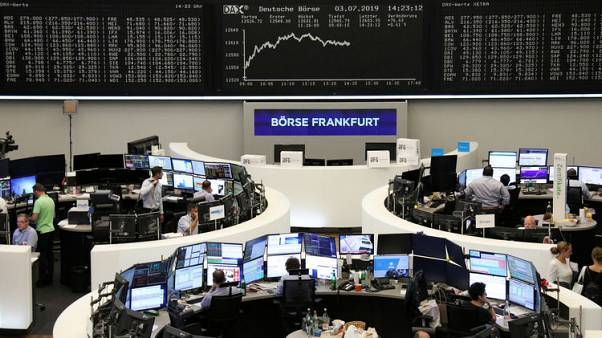 أسهم أوروبا تصعد بدعم من آمال خفض أسعار الفائدة وتفاؤل بشأن التجارة
