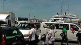 Stop della funicolare di Capri