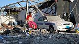 U.N. says Libyan guards reportedly shot at migrants fleeing airstrikes