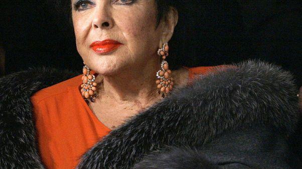 ثوب ارتدته النجمة إليزابيث تيلور في حفل الأوسكار يعرض في مزاد