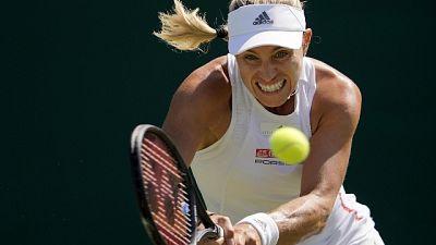 Wimbledon: Kerber fuori, avanza Davis