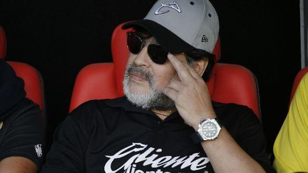 Universiadi: Maradona, grazie Napoli