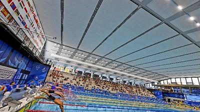 Staffette 4x100 sl medaglia di bronzo