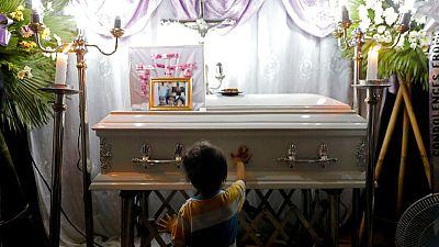 Enforcer of Philippine drug war defends police killing of toddler