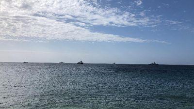 "Mediterranea vicino Lampedusa, ""stop"""