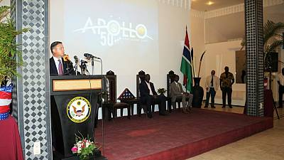 Embassy Banjul hosts #July4OnTheMoo