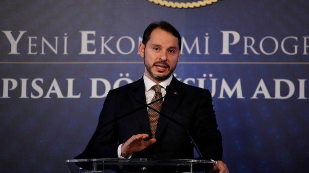 وزير المالية التركي: ميزان المعاملات الجارية سيسجل فائضا في يونيو