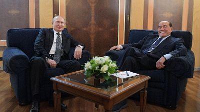 Berlusconi, amicizia con Putin