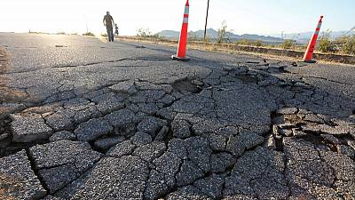 More quakes could hit California as residents mop up