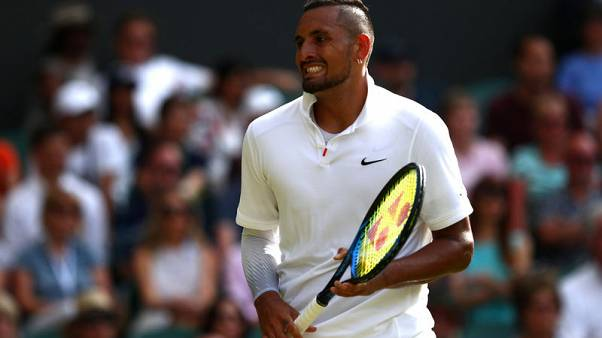 Wimbledon the poorer for Kyrgios exit