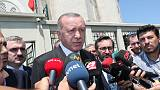 Erdogan says car explosion in Turkey kills three, may be terrorism-related