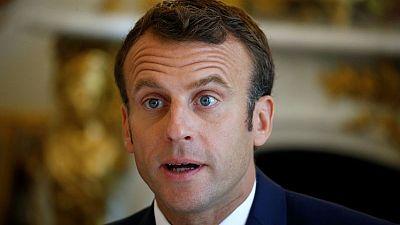 Seeking reset with journalists, Macron keeps press room inside Elysee