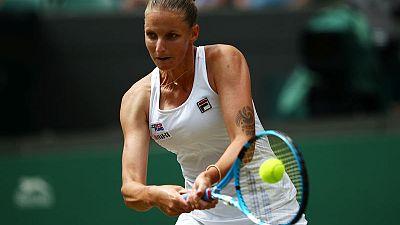 Pliskova sees off Hsieh to reach Wimbledon fourth round
