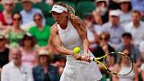 Wozniacki's Wimbledon ends in grumbles