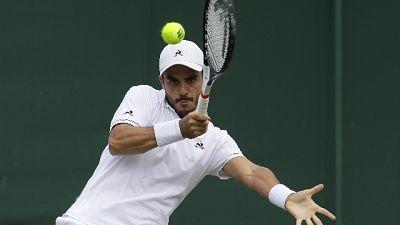 Wimbledon: Fabbiano fuori al terzo turno