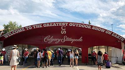 Weed ban means no Rocky Mountain high for Canada's Calgary Stampede